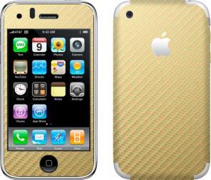 Продам карбоновые наклейки для iphone