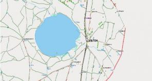 Где находится озеро эльтон на карте россии