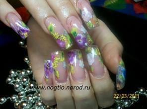 Наращивание ногтей химки