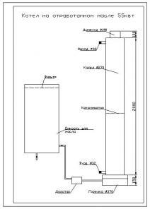 Котел на отработанном масле (25-75 квт.не требует электричества,недымит)...  Подробности на сайте. информация не...